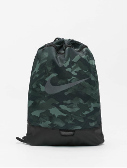 Nike Sac à cordons Brasilia 9.0 AOP 2 gris