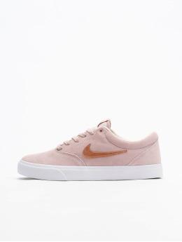 Nike SB Сникеры SB Charge Suede розовый