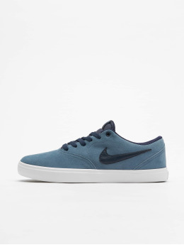 Nike SB Сникеры Check Solarsoft Skateboarding серый