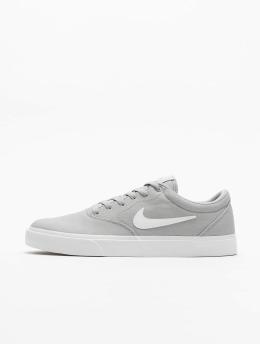 Nike SB Сникеры SB Charge Canvas серый