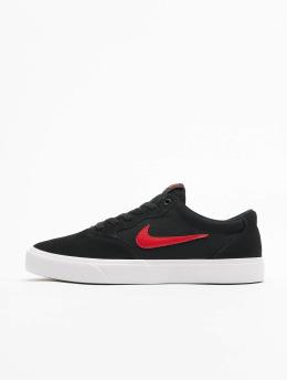 Nike SB Сникеры Chron SLR черный