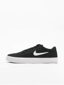 Nike SB Сникеры Charge Canvas черный