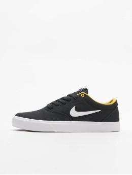 Nike SB Сникеры SB Charge Canvas  черный