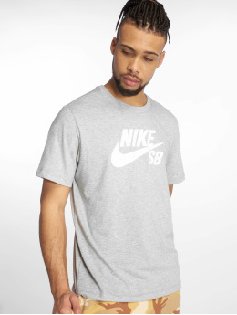 Nike SB Футболка Dri-Fit серый