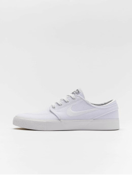 Nike SB Baskets Zoom Janoski Canvas blanc