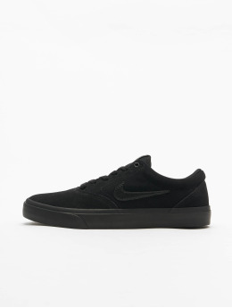 Nike SB Baskets Charge Suede noir