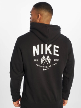 Nike SB Bluzy z kapturem PO LS czarny