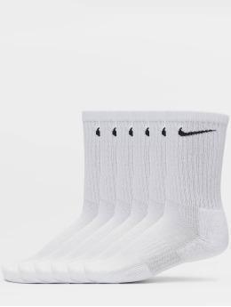 Nike SB Calcetines Everyday Cush Crew 6 Pair BD blanco
