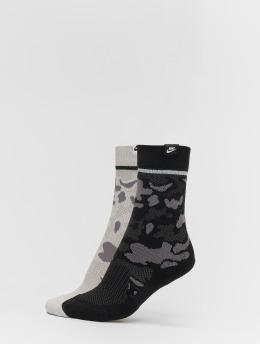 Nike SB Calcetines Sneaker Sox Crew 2 Pair Camo camuflaje