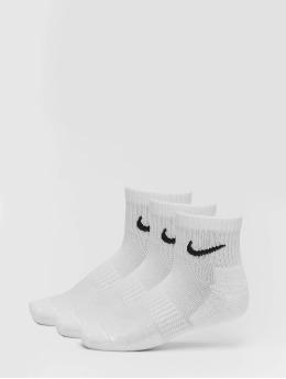 Nike SB Chaussettes Everyday Cush Ankle 3 Pair blanc