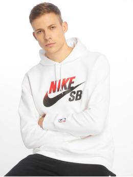 Nike SB Felpa con cappuccio Icon bianco