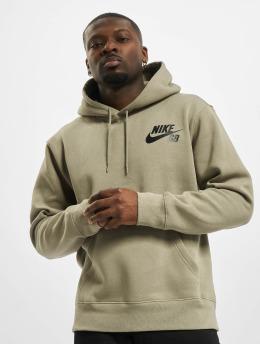 Nike SB Hoodies Icon Essnl khaki