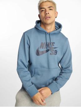 Nike SB Hoody Icon blau