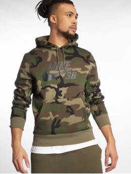 Nike SB Hoody Icon olijfgroen