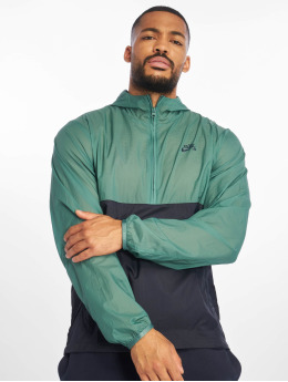 Nike SB Prechodné vetrovky SB SU19 Anorak Bicoastal zelená