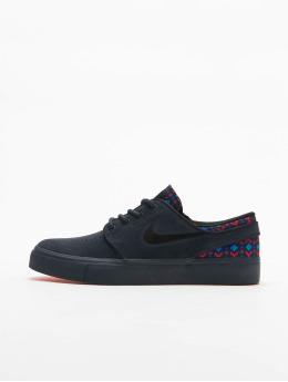 Nike SB Sneaker Janoski Suede Premium (GS) blau