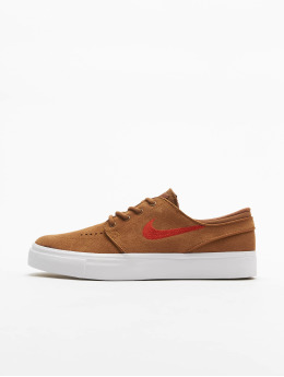 Nike SB sneaker Janoski Suede (GS) bruin