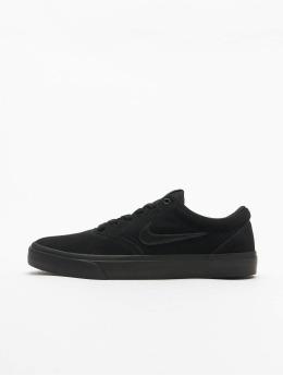 Nike SB Sneaker Charge Suede schwarz