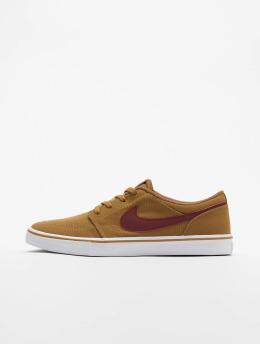 Nike SB Sneakers SB Portmore II Solar Cnvs beige