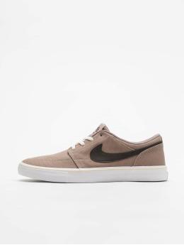 Nike SB Sneakers SB Solarsoft Portmore II hnedá