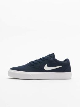 Nike SB Snejkry Charge Canvas modrý