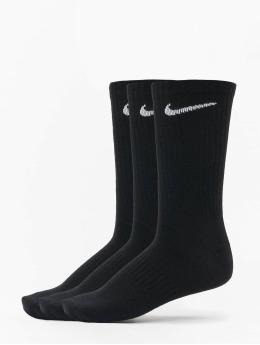 Nike SB Socken Everyday LTWT Crew 3 Pair  schwarz