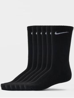 Nike SB Sokker Everyday Cush Crew 6 Pair BD svart