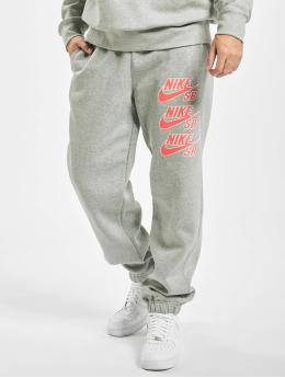 Nike SB Spodnie do joggingu Icon Fleece  szary