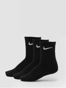 Nike SB Strumpor Everyday Cush Ankle 3 Pair svart