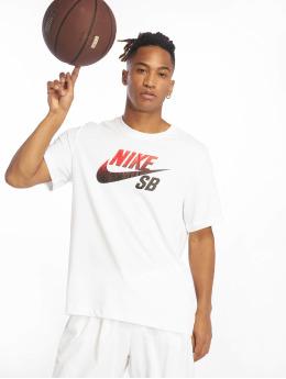 Nike SB T-paidat Dri-Fit valkoinen