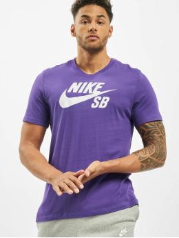 Nike SB T-Shirty SB Dry fioletowy
