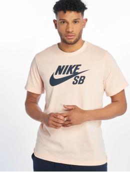 Nike SB T-Shirty SB Dry Dfct Logo rózowy