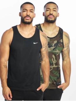 Nike SB Tank Tops Dry Mesh Erdl schwarz