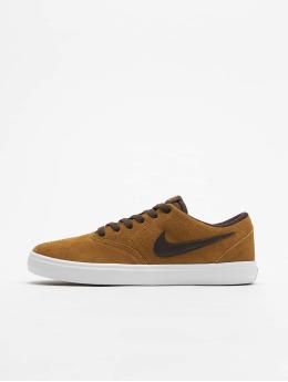 Nike SB Tennarit Check Solarsoft Skateboarding beige