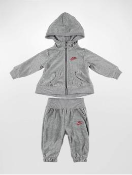 Nike Sety Velour  šedá