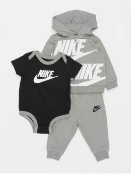 Nike Sety Split Futura 3PC šedá