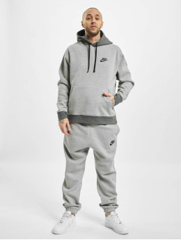 Nike Sety M Nsw Ce Flc Trk Suit Basic šedá