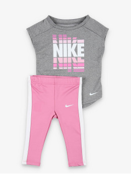 Nike Sety SS Tunic ružová