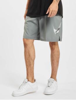 Nike Shorts Camo Flex Woven 3 grau