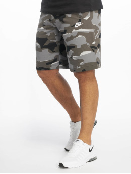 Nike shorts Club Camo grijs