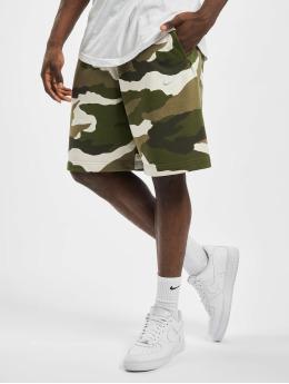 Nike shorts Club Camo olijfgroen