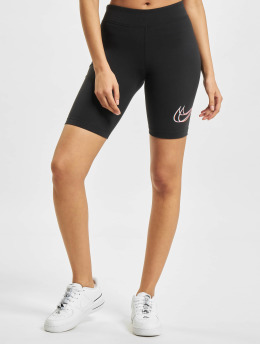 Nike Shorts W Nsw Essntl Prnt schwarz