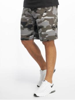 Nike Shortsit Club Camo harmaa