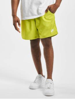 Nike Shortsit Woven Flow keltainen