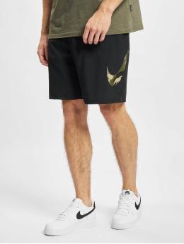 Nike Shortsit Camo Flex Woven 3 musta