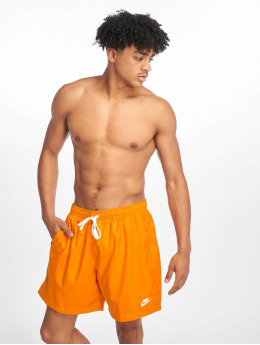 Nike Shortsit Woven Flow oranssi
