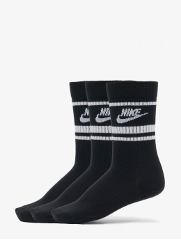 Nike Skarpetki Essential Stripe 3 Pack czarny