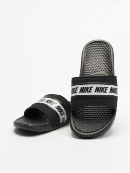 Nike Slipper/Sandaal Benassi zwart