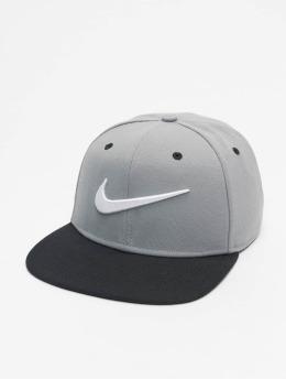 Nike Snapback Cap Pro Swoosh Classic grau