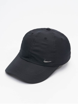 Nike snapback cap Metal Swoosh Fitted zwart